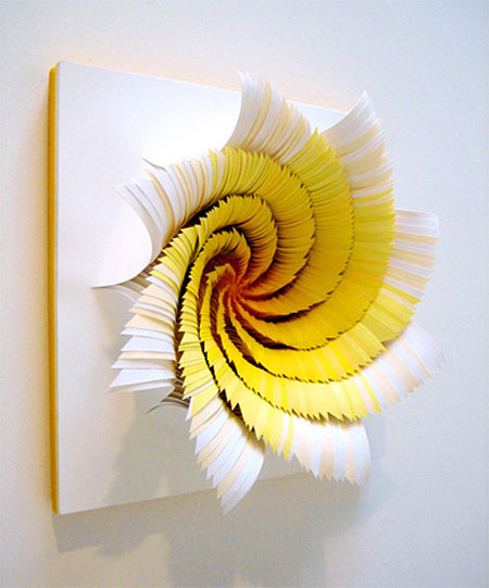 Paper trail sculpture creations by jen stark artstormer for 3d paper craft ideas from jen stark