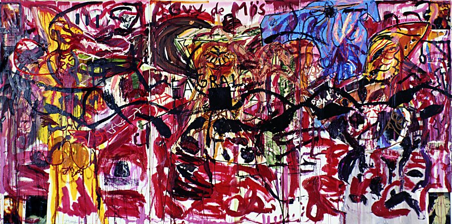 Large And In Charge Contemporary Master Jonathan Meese