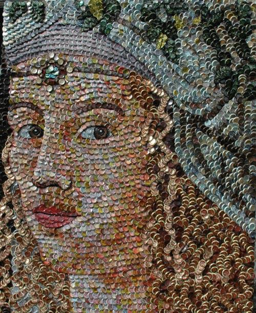 Pop top bottle cap portraits by molly bright artstormer for Bottle cap art how to
