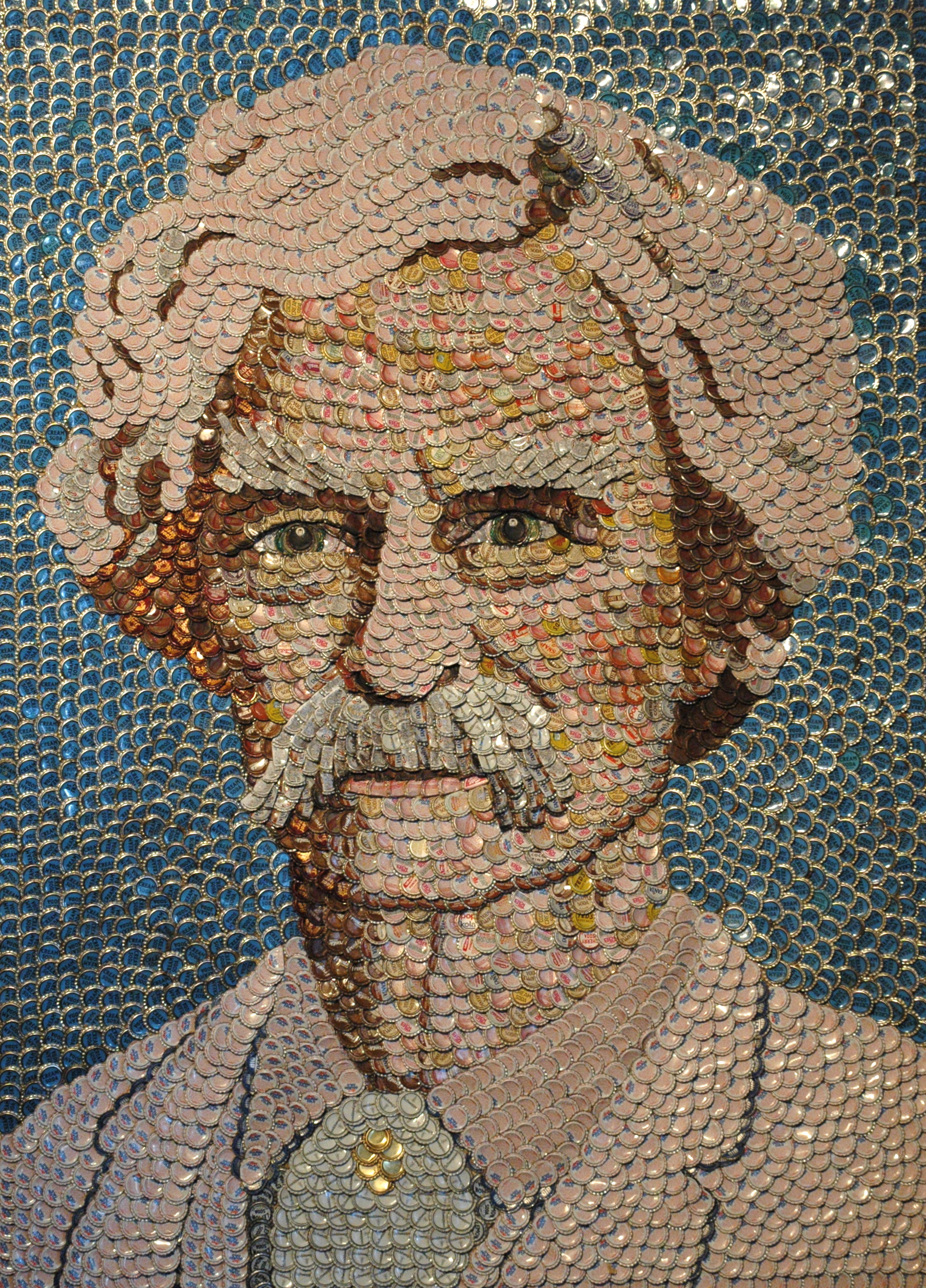 Pop Top Bottle Cap Portraits By Molly Bright Artstormer