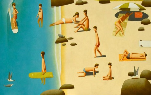 web_Afternoon_Beach_People_oil_on_linen_70x110cm_4800