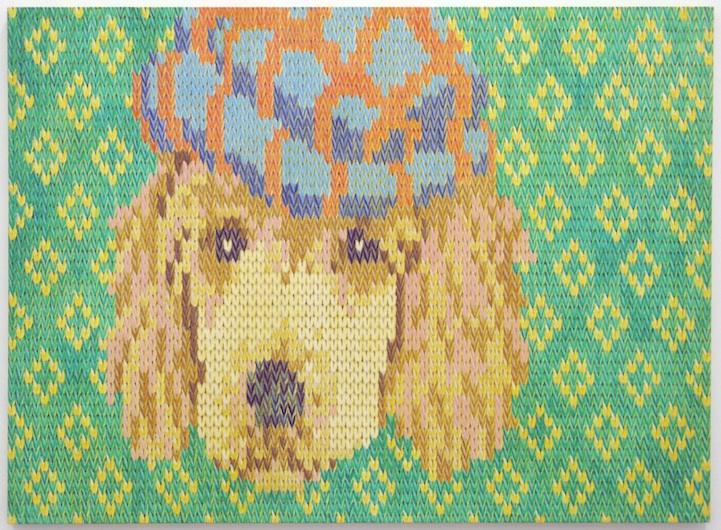 Knitting Oils : Mason dixon knitting paintings by rogerio degaki