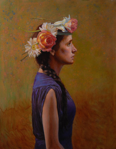 6_-PROFILE-SETH-HAVERKAMP-FLOWERS-IN-HER-HAIR-OIL-PAINTING-FINE-ART-CONNOISSEUR