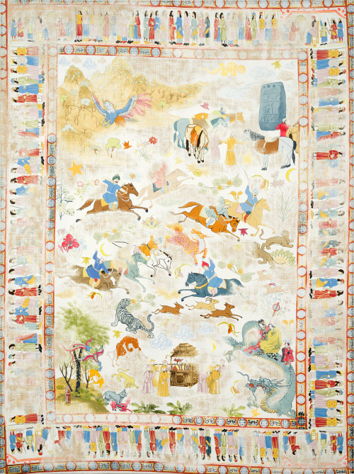Silk Road Paintings By Kour Pour Artstormer
