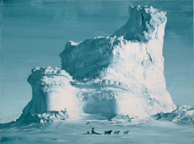Patrolling-Oil-on-canvas.-60-x-80-cm.-2016